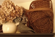 I have a passion for baskets / by Cheryl Sawyers