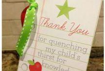 Teacher appreciation / by Angie Lee {Seven Clown Circus}