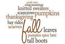 Fall / by Chelsea VanIterson Preiss