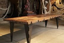 Tables / Striking table designs / by Artefact Design & Salvage