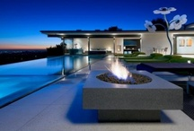 Pools & Pit Lounge Areas / by Christie DeBrino