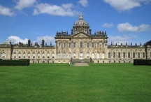 ♔ Castle Howard, N. Yorks / Designed by Sir John Vanbrugh for the 3rd Earl of Carlisle, the stunning interiors of Castle Howard are the perfect backdrop to world-famous collections; from frescos and furniture to paintings and porcelain. However, Castle Howard is not just about magnificent architecture and exhibits; it is also home to the Hon. Simon and Mrs Howard, who live here with their children.  I once saw the Proms here and it was one of the best days I can ever remember!! / by Melissa