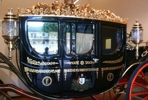 ♔ The Royal Mews  / Attached to the south of Buckingham Palace, the Royal Mews is stables and carriage house of the Royal Family. It is now open to the public, where a number of horse drawn coaches are on display, including the lavish Gold State Coach. Many of the coaches are still used for Royal Occasions. / by Melissa