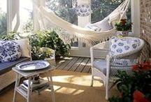 Porch & Patio / Crafty designs for outdoor decor / by Craft Ideas