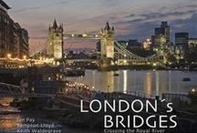 ♔ Other London Bridges / Tower Bridge gets most of the attention, Over 200 bridges cross the river Thames.  The first was built in London by the Romans almost 2000 years ago, near to the spot where London Bridge is now.  Many other bridges are built where older bridges were founded.   Waterloo Bridge is the longest in the City of London at 1,250 feet / by Melissa