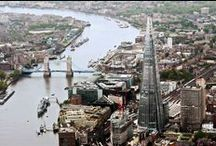 ♔ The Shard / Like it or not (I don't!), The Shard is now part of London's skyline and has become a well known landmark.  I suppose I will become accustomed to it as I have City Hall and the Gherkin! / by Melissa