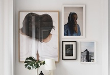 A R T / Cool artwork and ideas for displaying your art, prints, and photos at home. / by Shipshape Studio
