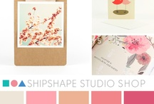 COLOUR BOARDS / Colour-themed mood boards featuring handpicked items from the Shipshape Studio shop / by Shipshape Studio