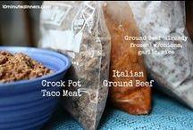 Freezer/Bulk Cooking/Crockpot / by Balancing Beauty and Bedlam