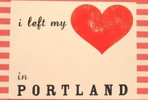 Portland / my favorite place in the world.  here is a compilation of places i've been, and places i'm dying to go! / by Christina Galloway