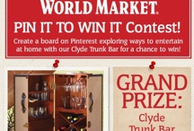World Market's PIN IT TO WIN IT Contest / by Alice Torres