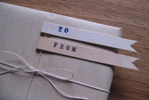 Wrapped, written, stamped... / by Aimee Lipscombe