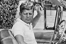 Camelot / 35th President of the United States * JFK and his family / by Belinda Friedman