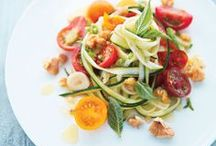 Farmer's Market / Make the most of your summer Farmer's Market produce with these seasonal recipes made with extra virgin olive oil / by California Olive Ranch