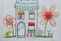 embroidery / by Jennifer Mathis (Ellison Lane: Modern Sewing & Design)