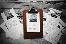 Calendars / by The Paperbird Society