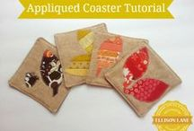 Sewing Tutorials (Home Decor)  / Free Patterns and Tutorials for decorating your home / by Jennifer Mathis (Ellison Lane: Modern Sewing & Design)