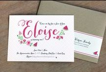 invites / by Laurie Fitzpatrick