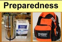 Preparedness / Preparedness, SHTF, Prepping, Essential Skills, Stocking Up - preparing for the good, the bad and everything in between. / by Common Sense Homesteading