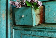 TURQUOISE, MINT & BLUE GREEN'S:) / by Sandy Girard