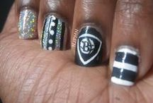 Nets Inspired Nail Art & Makeup / by Brooklyn Nets