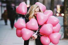 Fashion // Print // Colour : pink : / by Mirienna Design