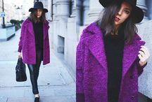 Fashion // Colour // Print : Purple :  / by Mirienna Design