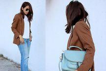 Fashion // Colour // Print : Brown : / by Mirienna Design
