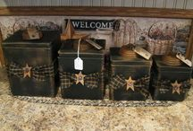 Canister Set's / by Twilla Dinwiddie Choat