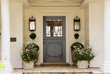 Home Exterior Ideas / by Mendi Rush