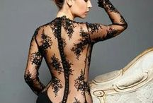 LEATHER & LACE / by Barbarette Mathis