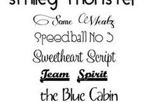cricut/typography / by Kelley Whisenhunt