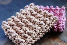 Crochet - Dishcloths, Washcloths, Scrubbies / by Rhonda Halstead