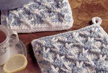 Crochet - Potholders, Hot Pads, Oven Mitts, Coasters, Placements / by Rhonda Halstead