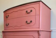 pAiNTeD fuRniTuRe / by Angel Lace