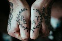 Tattoos / by Alex Cruz