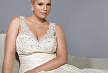 Plus Size Wedding Gowns / I already have my gown (yay!) but I thought I'd continue to share with the ladies who are following this board.  It's so much easier to imagine what you'd look like in a gown modeled by a larger woman. / by Grumpy Sherry