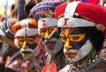 Papua New Guinea / Pictures of the beautiful country of Papua New Guinea -- home for many of us. / by Timothy Thurman