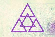 Sacred Geometry | Symbolism | Yoga / by Alexa Aulds