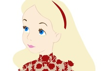 A Curious Wonderland / Alice in Wonderland inspired / by Rhonda Walton
