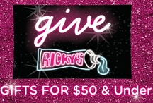 Gifts for $50 & Under / by Ricky's NYC