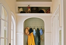 Mud Room Ideas (Hall) / by Amy Kazor VA