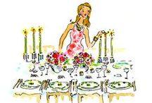 .♔. table setting. / { à mesa } / by Cris Borrego