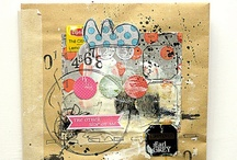 art journal / mixed media / by Julie Normand