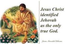 Jesus Christ, son of JEHOVAH... / by Jana Jannsen