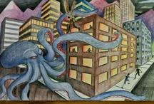 Art Lesson Ideas: Perspective / by Michelle McGrath