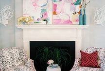Chinoiserie and Art / Here you will find wonderful inspiration on adding Chinoiserie art to any room of your home and on combining art and Chinoiserie. I especially love abstract modern art with Chinoiserie. / by Beth Connolly // Chinoiserie Chic