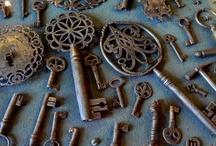 <3 LOVE> keys & locks / by Melissa Martin