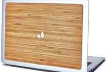 Bamboo Backs for MacBook, iPad Air, and iPad Mini!   / Express yourself the moment you open your MacBook display or pull out your iPad. It's a fun and affordable way to stand out from the crowd, even when you're hiding behind that Apple logo for most of the day, like so many of us do. / by Grovemade