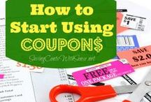 Coupon Resources / How to use coupons, where to find them, organize them and more / by Melissa Hurst {SavingCentsWithSense.net}